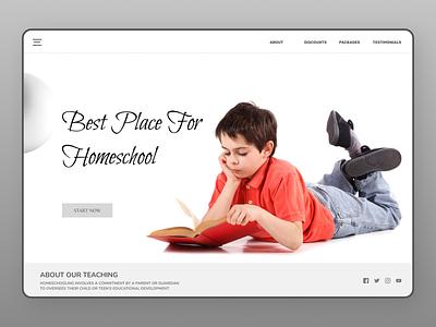Online Education uiuxdesign uidesign uiux education website education online new typography website web ux ui design