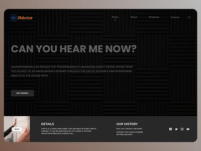 Consultant web Design concept art minimal online new branding website web design ux ui