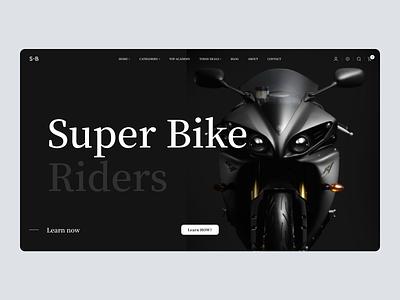Online Bike Purchasing Web Design clean graphic design art website minimal branding web ux ui design