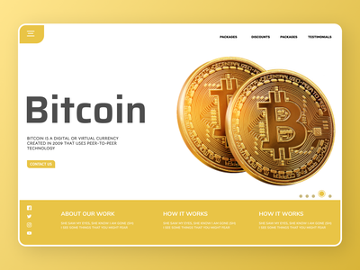 Bitcoin exchange Web Design branding online new website minimal clean web ux ui design