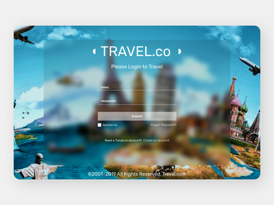 Travelling Web typography online new website ui minimal clean web ux design
