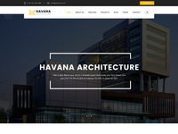 Home page for HAVANA Architecture theme