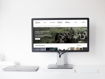 Northern Ireland Screen northern ireland website ux ui responsive design belfast