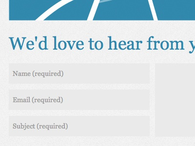 Contact Form input form contact form web