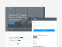 Continuous Solutions recruitment mobile first web design wordpress website ui ux