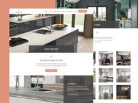 Adore Kitchens <3 responsive website kitchens wordpress web design ux ui