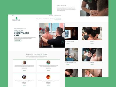 North Down Chiropractic Clinic chiropractic web design wordpress website ui ux