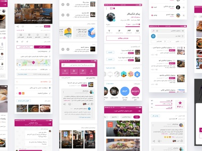 Dunro Redesign Project foursquare yelp dunro review badge search menu leaderboard profile community social gamification business directory app