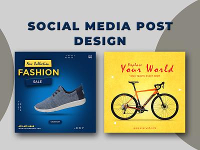 Social Media Post Design web banner cover graphic design ads banner ads