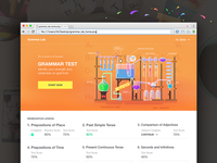 Grammar Lab Landing Page