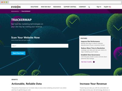 Evidon's Trackermap
