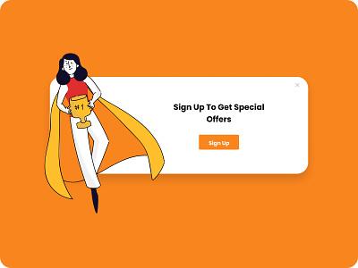 Special Offer - Daily UI branding web website dailyuichallenge ui