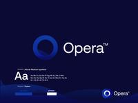 Opera logo redesign - fantasy project