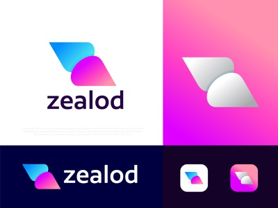 Modern Z letter logo zealod app icon vectors popular modernism pattern colorful n o p q r s t u v w x y z a b c d e f g h i j k l m logo designer graphic design flat negative creative logo design logos technology abstract logo agency branding brand identity