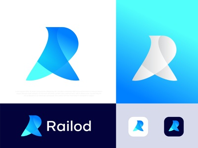 Railod Modern Logo । R logo । R letter mark creative logo technology modern logo business corporate app icon logo icon symbol logo mark logo designer best logo designer portfolio logotype branding brand identity design typography abstract gradient illustration logo r r logo