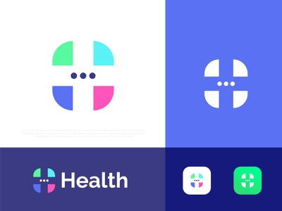 Health Logo Design । Medical Logo h logo h logo illustration gradient abstract typography brand identity design branding logotype best logo designer portfolio logo designer logo mark logo icon symbol business modern logo brand identity