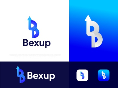 B logo। Modern B letter । Bexup logo logo design branding logodesign app icon right mark up mark arrow logo b logo mark professional logo designer modern logo gradient b logo illustration design logo designer abstract logo typography brand identity logotype branding