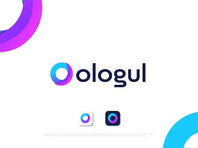 Modern O letter logo design o letter o icon o mark o logo illustration design logo logo designer abstract typography brand identity logotype branding
