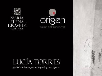 LUCIA TORRES – Instalación «MIGRANTE» en María Elena Kravetz Gal engraving on organza mariaelenakravetz 2021 instalacion migrante lucia torres
