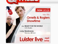 Designing the new 'Now on air' for Q-music