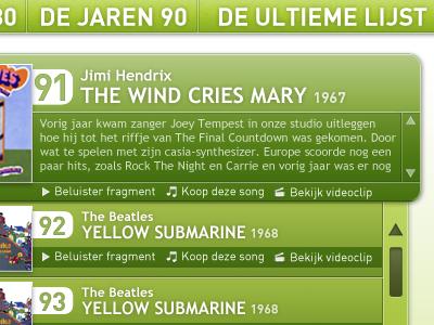 'De top 100 week' on JOEfm