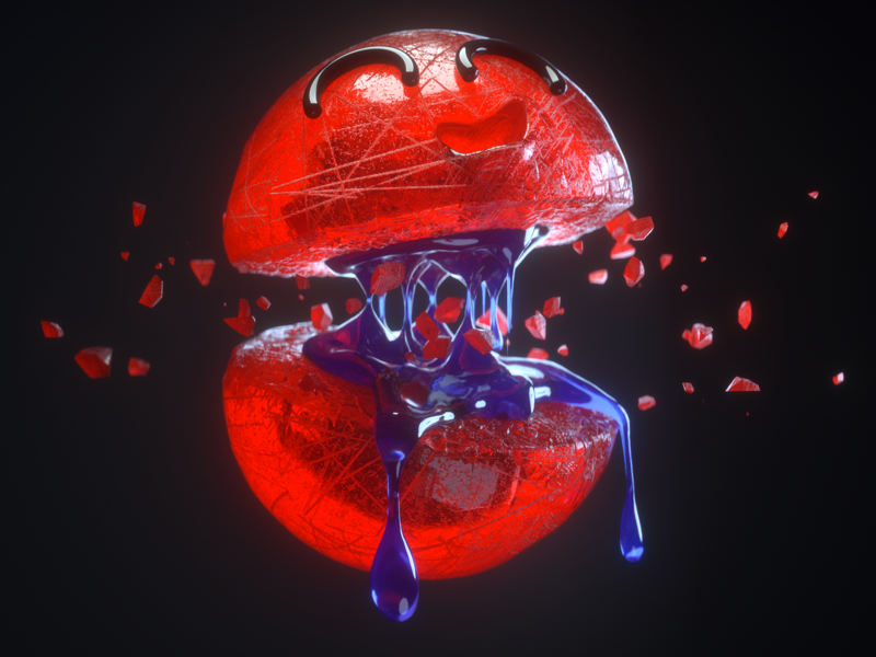 Jummy Candy caramelo dulce purple red render zbrush zigor candy