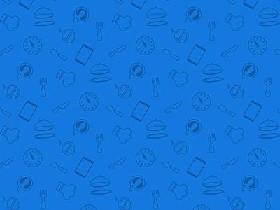 Entrée Icon Map food map icon restaurants entree vector illustrator