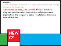NewCo Slide