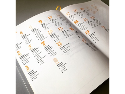Explorations in Typography TOC