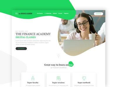 finance academy website