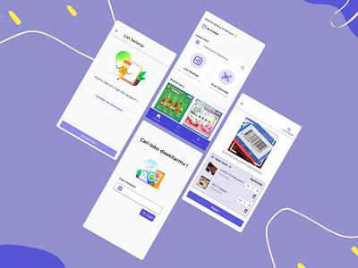 Fast Track App purple blue eccomerce ui design uiuxdesign uiux ux ui supermarket