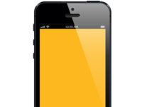 Freebie: Vector iPhone 5 Black Made for Bohemian Sketch