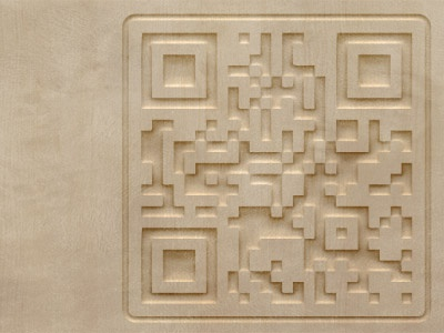 QR Code Carving