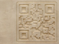 QR Code Carving