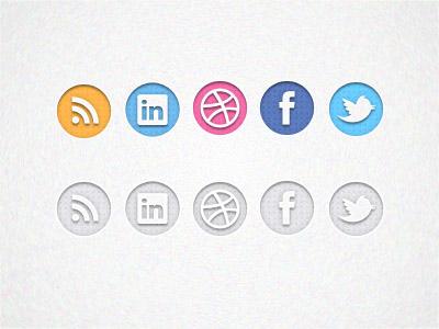 Social Icons Freebie Set