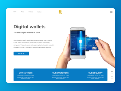 Digital Wallet wallet digitalart uiuxdesign uiux designs branding new web ux ui design