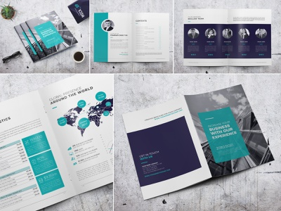 Minimal Company Profile modern marketing letter informational infographics indesign digital design creative corporate company profile company clean business brochure branding brand book annual report agency
