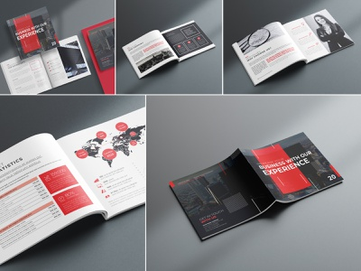 Premium Brochure Template Design modern marketing letter informational infographics indesign digital design creative corporate company profile company clean business brochure branding brand book annual report agency