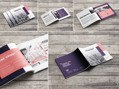Square Advertising Company Brochure pdf modern minimalist magazine informational infographics indesign indd idml emydesign elegant design creative corporate company clean business brochure design brochure ad