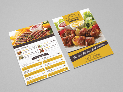 Restaurant Flyer & Loyalty Card restaurant menu templates restaurant menu restaurant psd template psd print template modern menu design menu loyalty card hamburger flyer template flyer fast food flyer fast food drink design cola cafe business