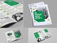 Green Corporate Bi-fold
