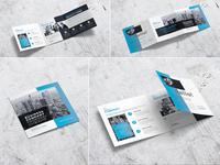Square Business Company Proposal Tri-Fold