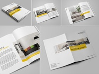 Modern Interior Design Brochure/Catalog