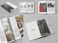 Simple Bathroom Catalogue Template