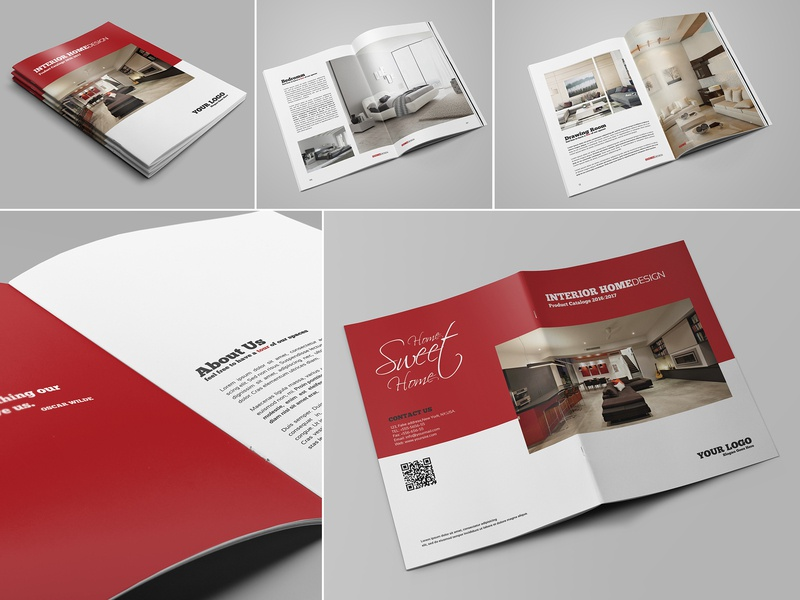 Modern Home Design Brochure Catalog By