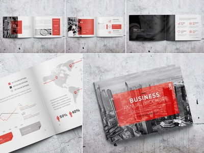 Business Annual Brochure