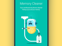 Memory cleaner for android