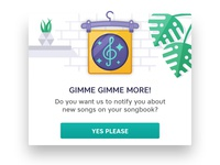 New song Pop-Up