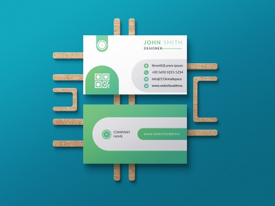 Green Corporate Business Card Design business card visitingcard businesscard creative business card branding simple business card professional business card brand identity slick business card elegant business card minimalist business card modern businesscard greenbusinesscard design visiting card design businesscard design