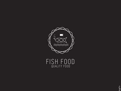 Minimal fish logo sushi fishfood food logos minimal fish vector branding letter logo idea elegant innovation clean design creative